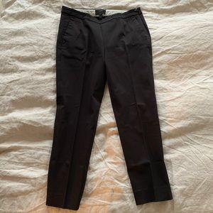 JCrew Martie Slim Pants Bi-stretch Cotton Black 4